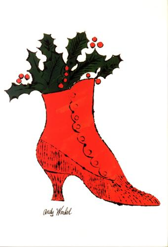 Andy-Warhol-Red-boot-wit-holly
