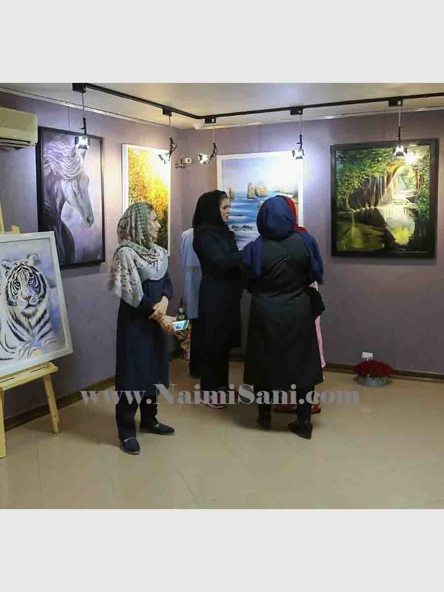 st- Naimi Sani institute art Exhibition